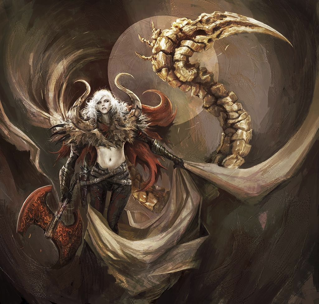 Fantasy Wallpaper - Strigoi Hunter by Eyardt
