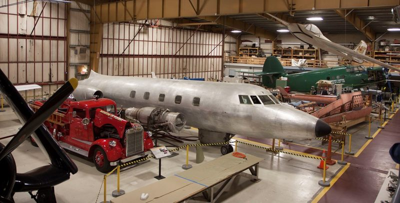 Museum of Flight's Restoration Center & Reserve Collection courtesy of Discover Multikeo