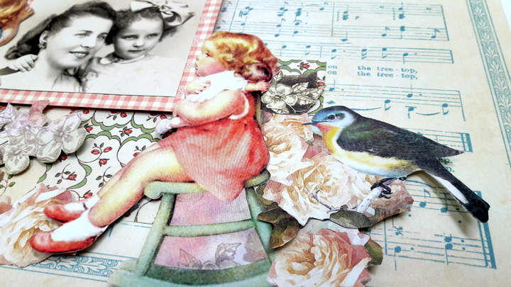 Mother and Daughter Layout, by Einat Kessler, Little Darlings, Product by Graphic 45, photo 2.jpg