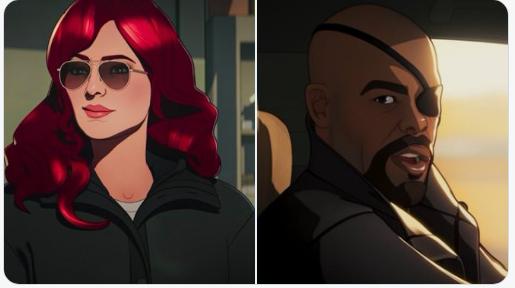 """Viúva Negra e Nick Fury tentam salvar os Vingadores de uma série de assassinatos no terceiro episódio da série da Marvel """"What If..."""". Confira!"""