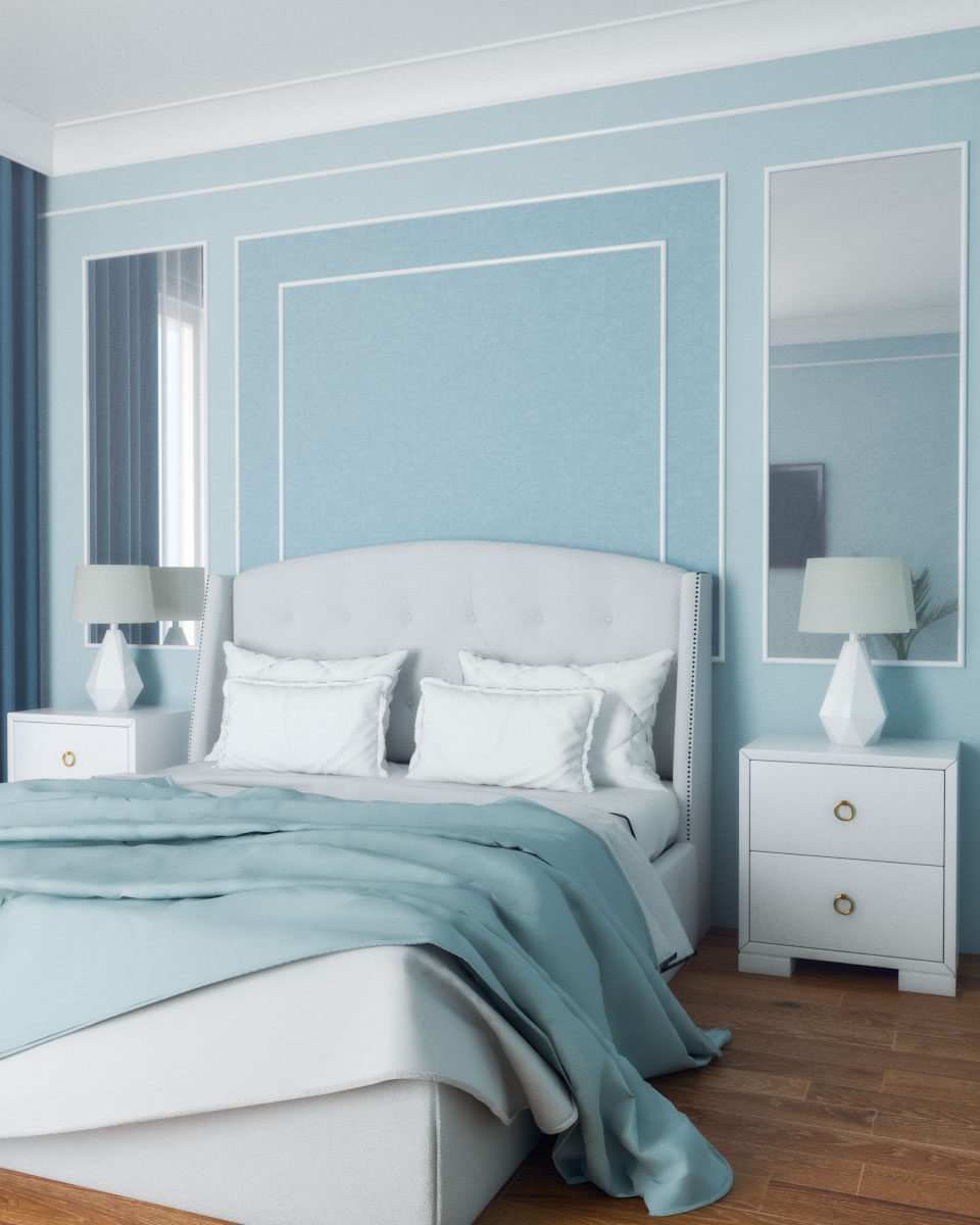 Slate Blue Bedroom Color Ideas