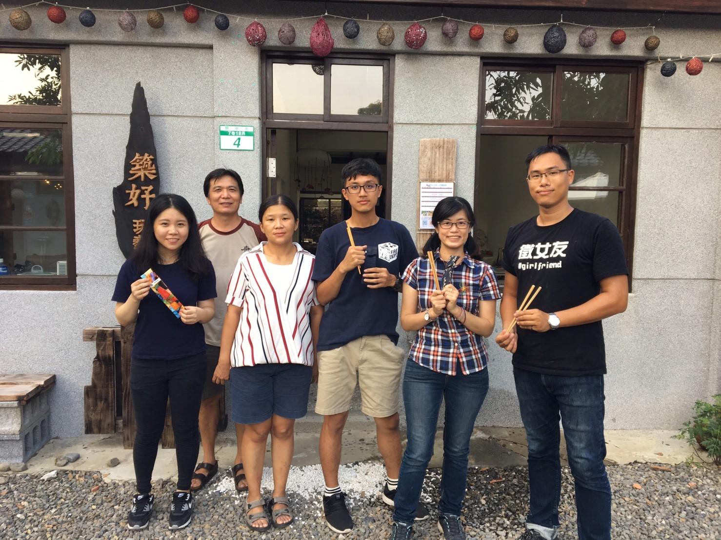2016/10/16第三期「筷」意生活複合媒材體驗課圓滿成功
