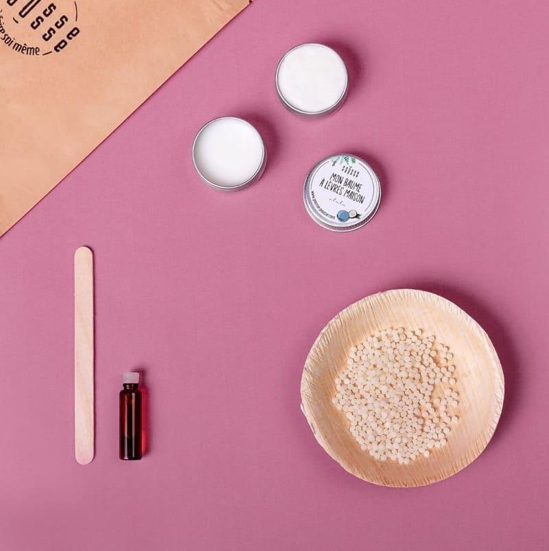 Kit pour créer un baume à lèvres