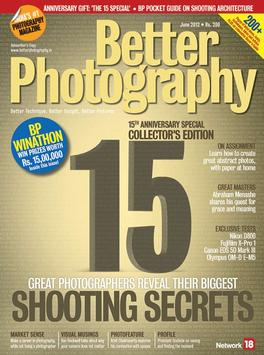 Better Photography magazine cover