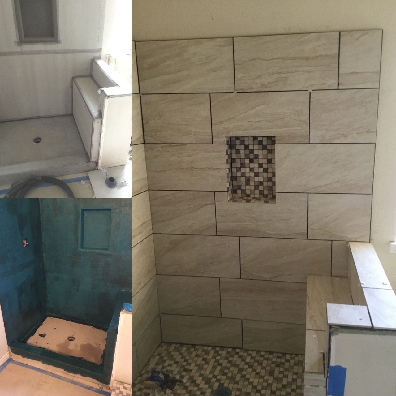 Handyman Melissa bathroom renovation and repair.