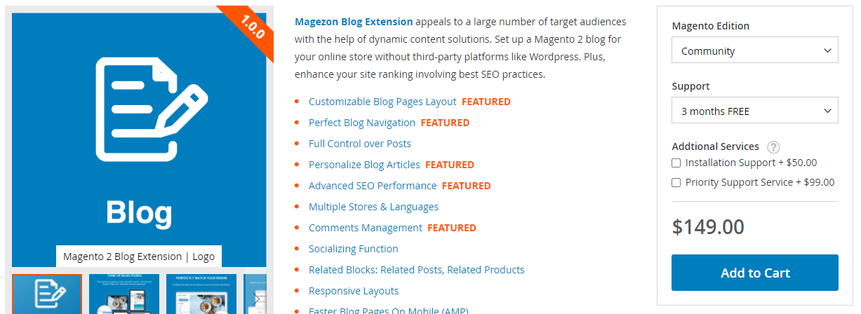 Magento 2 Blog Extension by Magezon