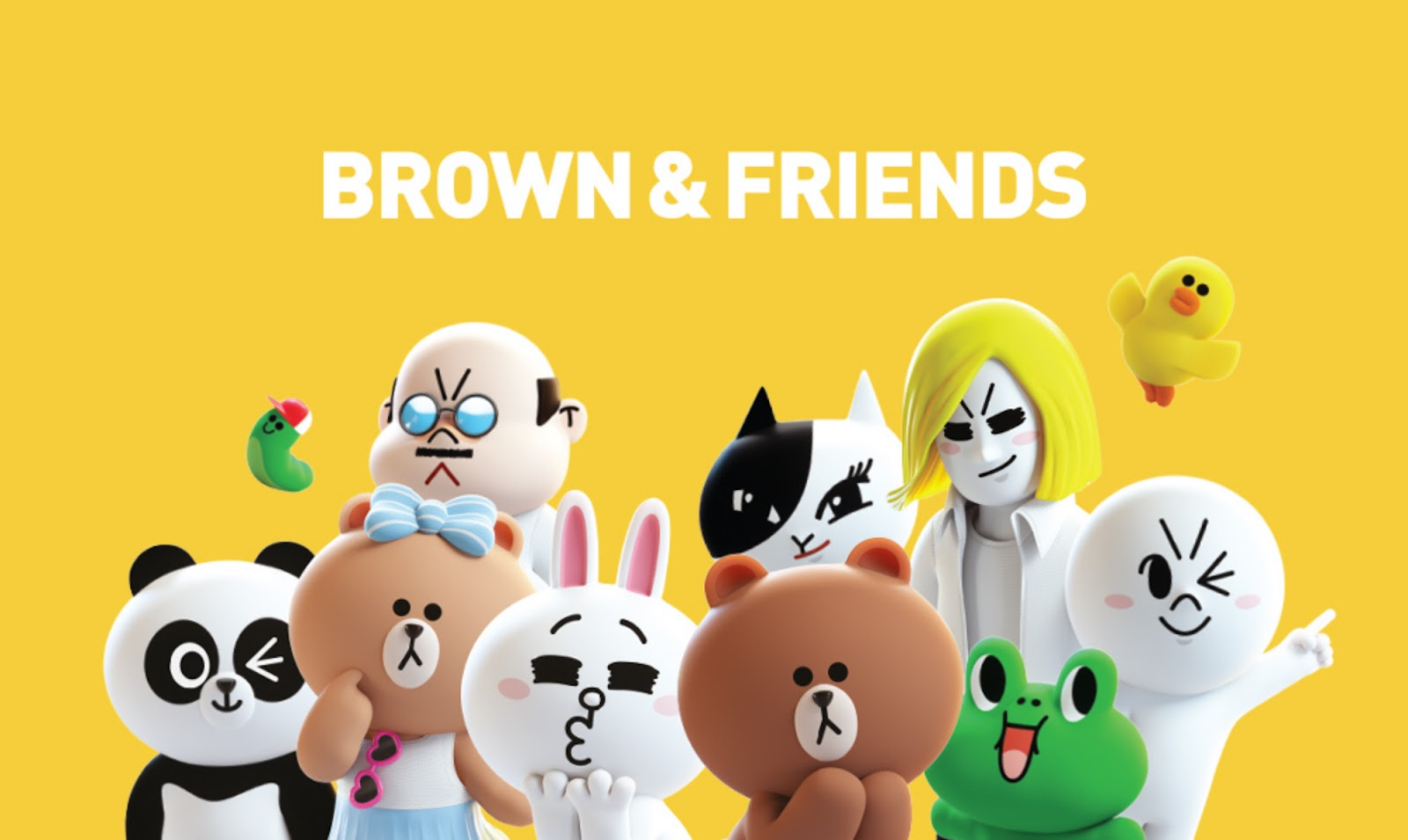 Una nuova serie animata Netflix con i personaggi di Brown & Friends