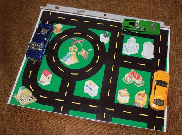 Printable Toy Car Road Map | Between 3 SistersBetween 3 Sisters | Road trip  activities, Airplane activities, Road trip with kids