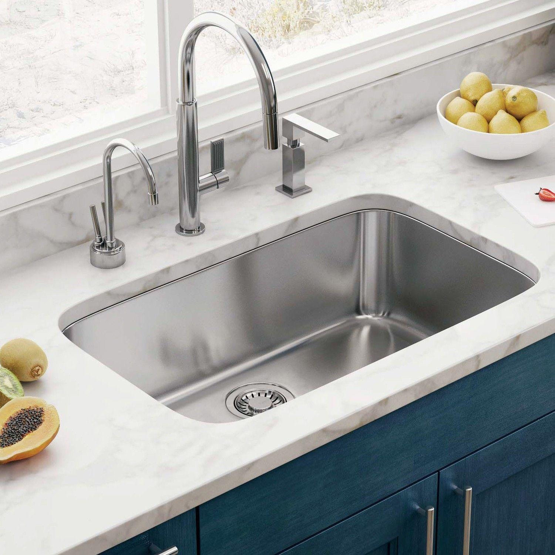 Modern and Efficient Kitchen Sink