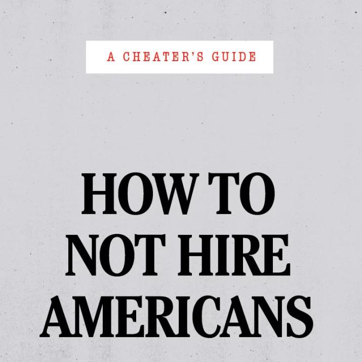 Как легко и непринужденно найти работу в Америке