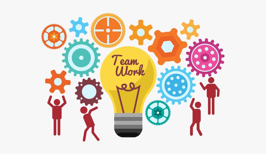 To Light Work Ideas Together Start Teamwork Clipart - Transparent Teamwork  Png, Png Download , Transparent Png Image - PNGitem