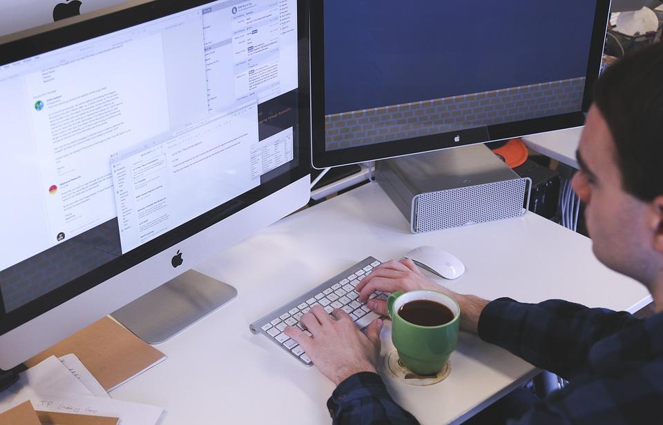 入力, コンピュータ, デスク, 鍬オフィス, オフィス, 学生, スタートアップ, ビジネス, 人, 戦略