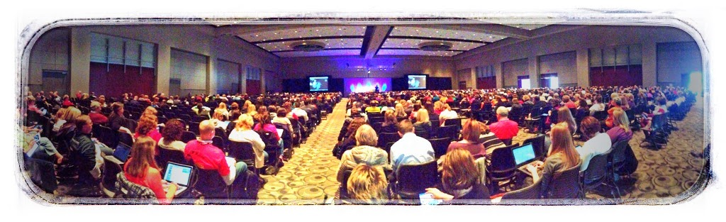 Wide Angle of Keynote at MACUL 2014
