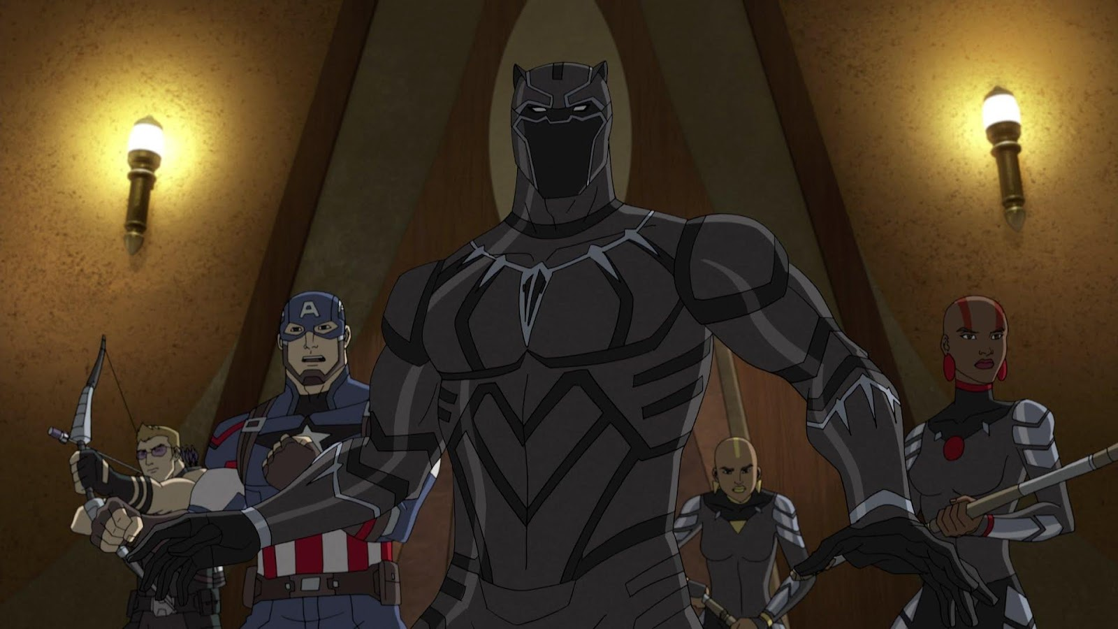 Image result for black panther avenger assemble