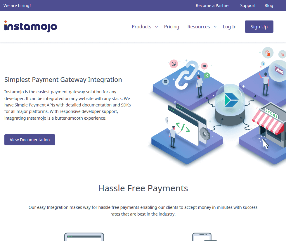 Instamojo payment gateway