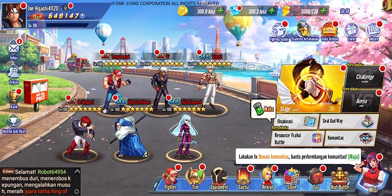 Gameplay KOF AllStar VNG