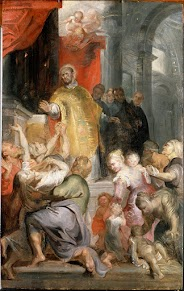 The Miracles of Saint Ignatius of Loyola by Peter Paul Rubens