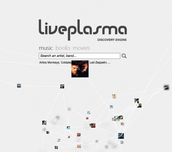 En base a tus respuestas, esta página te sugiere nueva música, películas y series de TV que te puedan gustar.