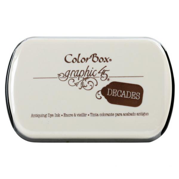 Clearsnap Decades Dye Pad Dark Cashmere