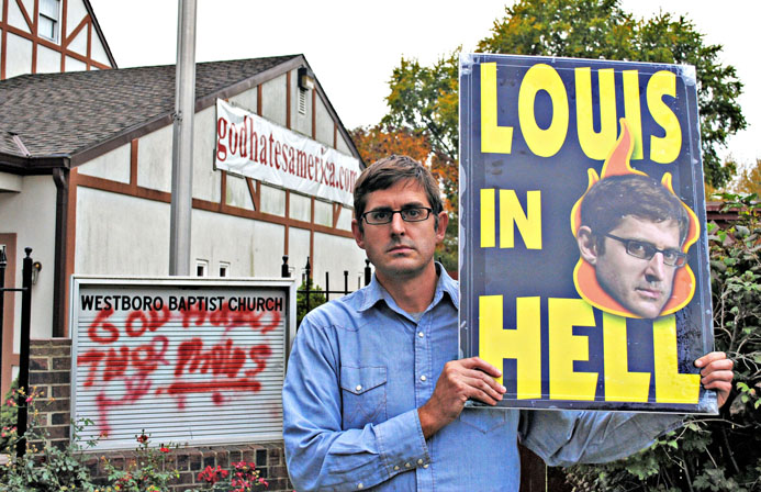 Louis Theroux in a cult documentary