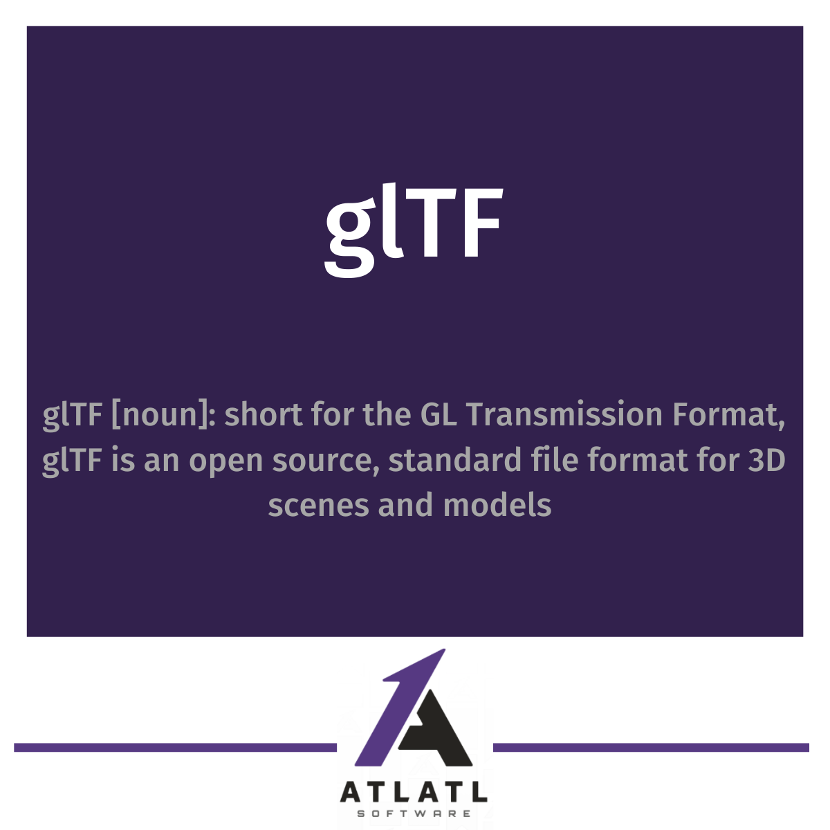 what is glTF?
