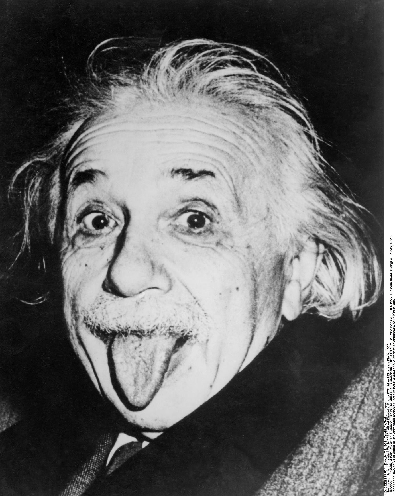 Albetrt Einstein, een notoire dwarsdenker ( Bron Isopix)