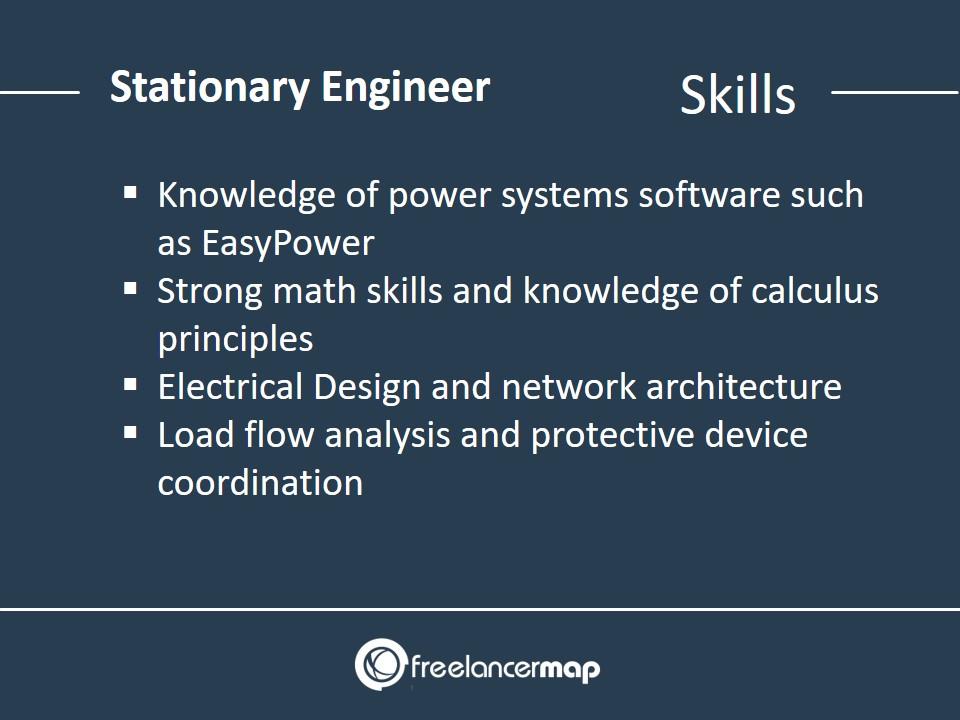 Stationary Engineer - Skills Required