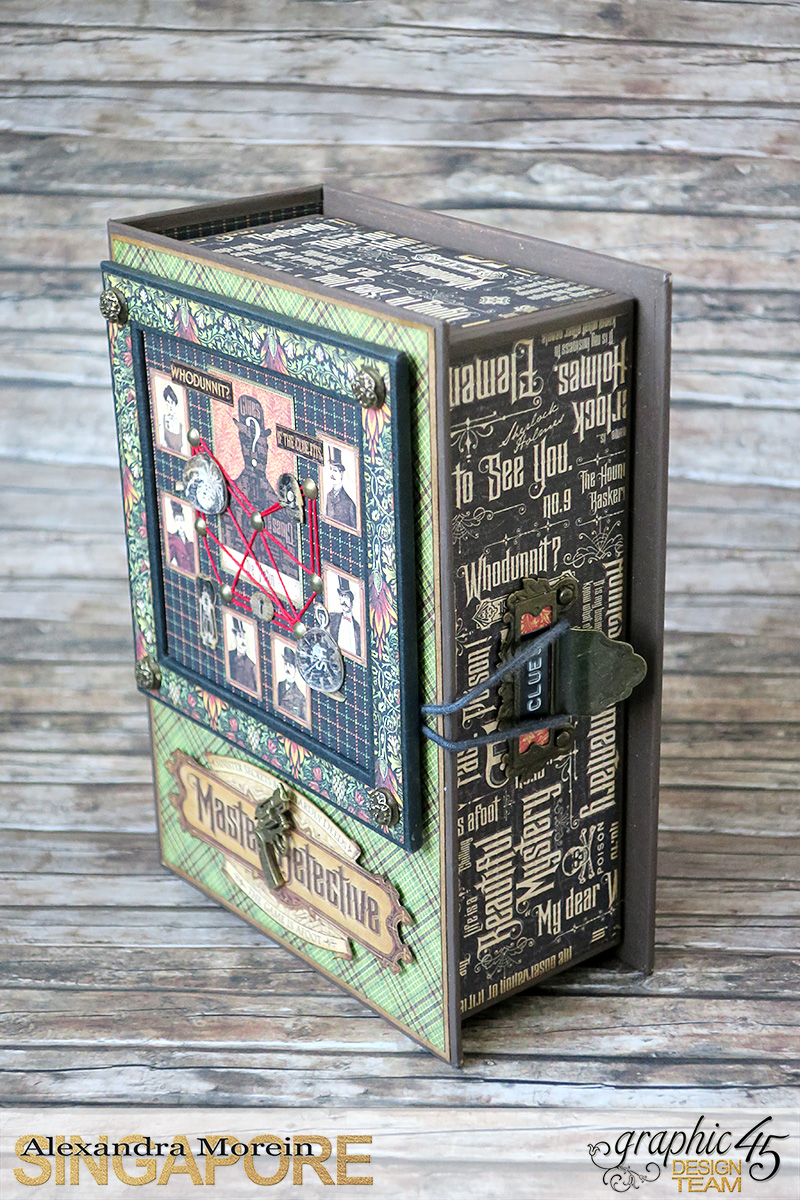 Master Detective Box and Albums, Project by Alexandra Morein, Product by Graphic 45, Photo 4.jpg