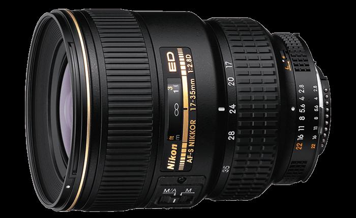 Nikon 17-35mm f / 2.8 AF-S