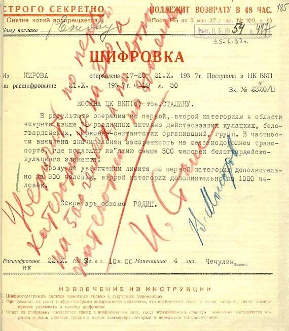 "Free Speech. Свобода Слова. ""Особая"" папка НКВД."