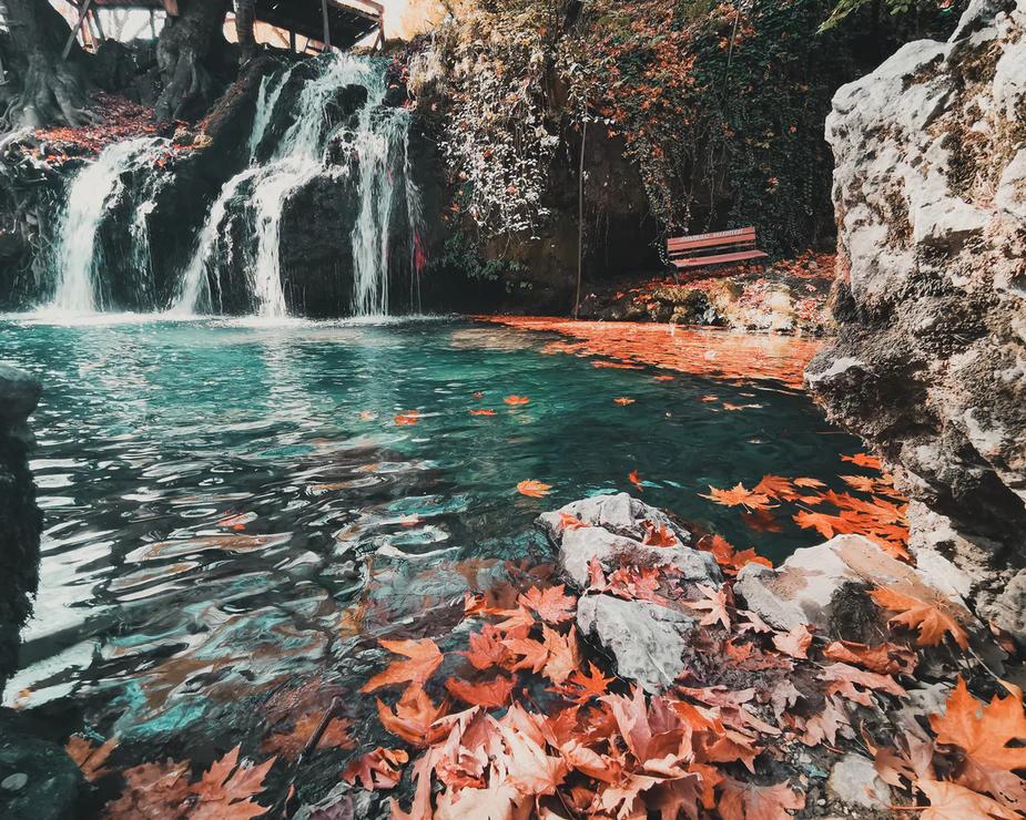 A posição dos preços pode ser comparada à localização de uma folha seca flutuando num rio.
