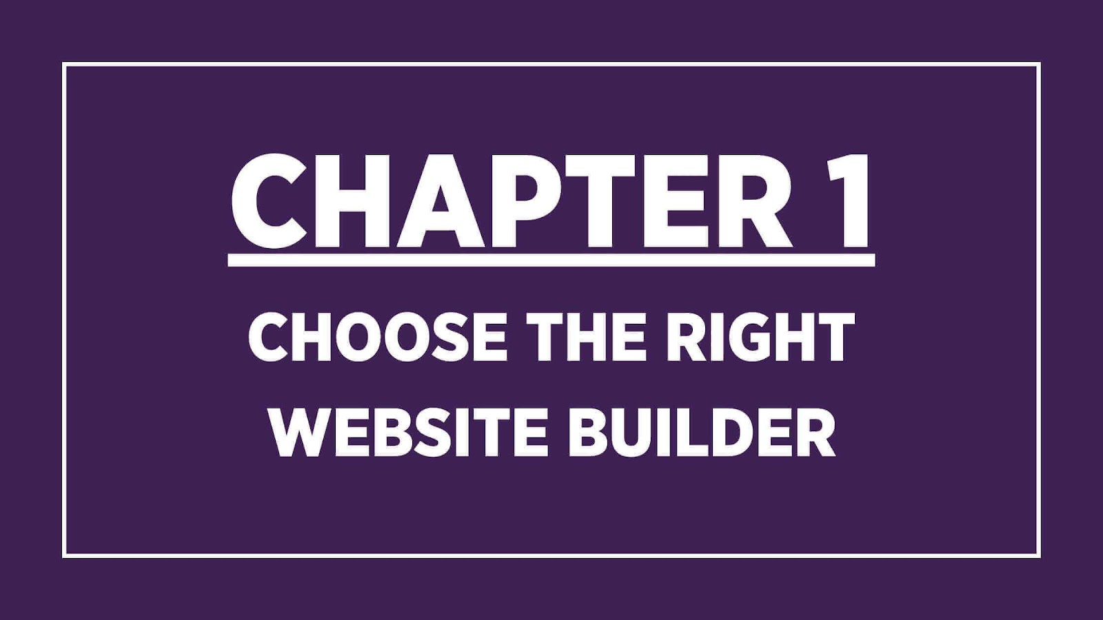 Chapter 1: WordPress for business