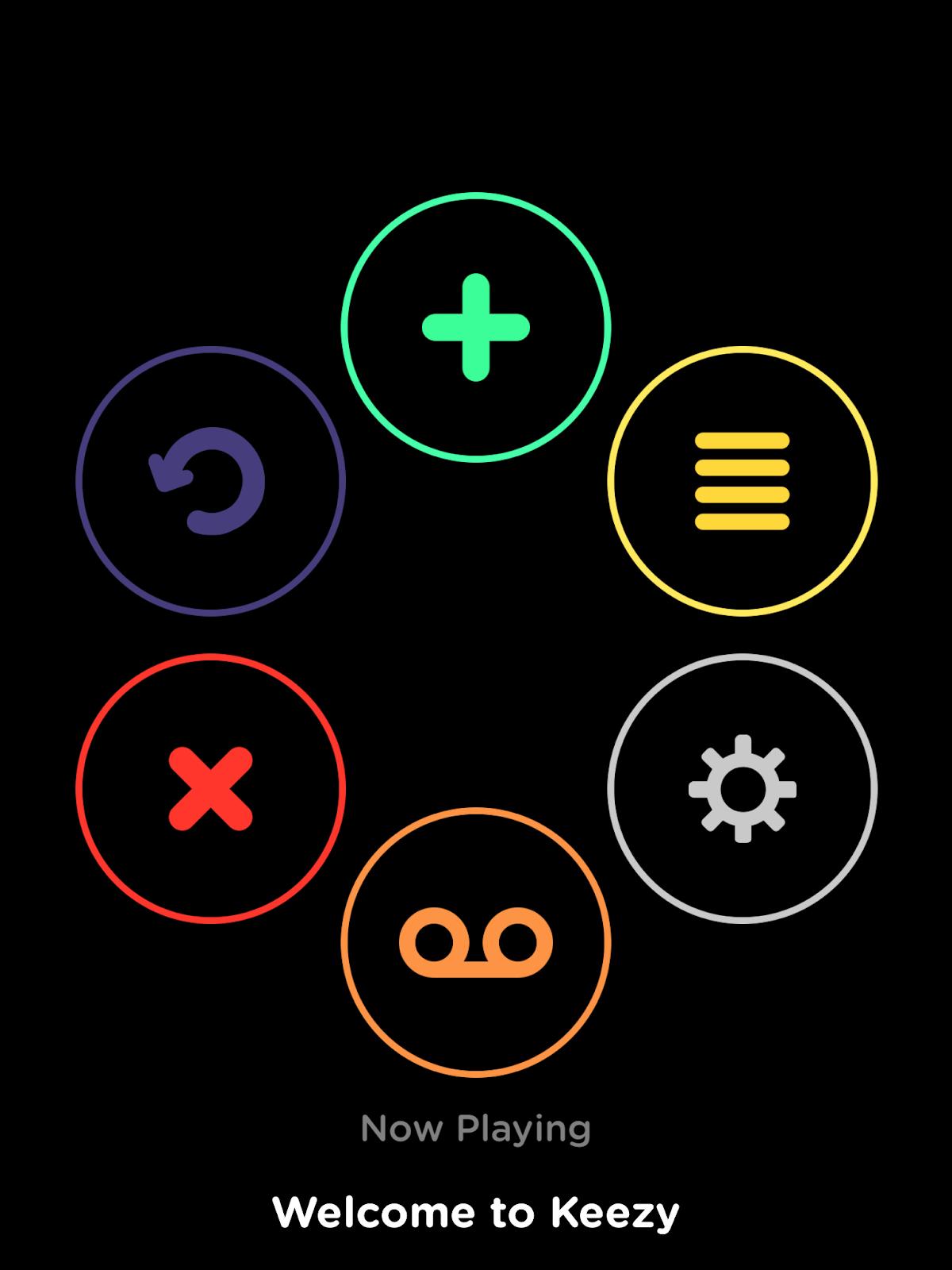 Keezy sound palette - Hot Cross Buns