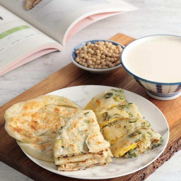 台北-料理課程-cookinn-旅人料理教室-蔥抓餅-豆漿