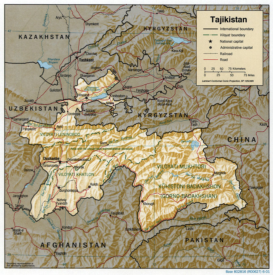 Vallée de Ferghana Tadjikistan