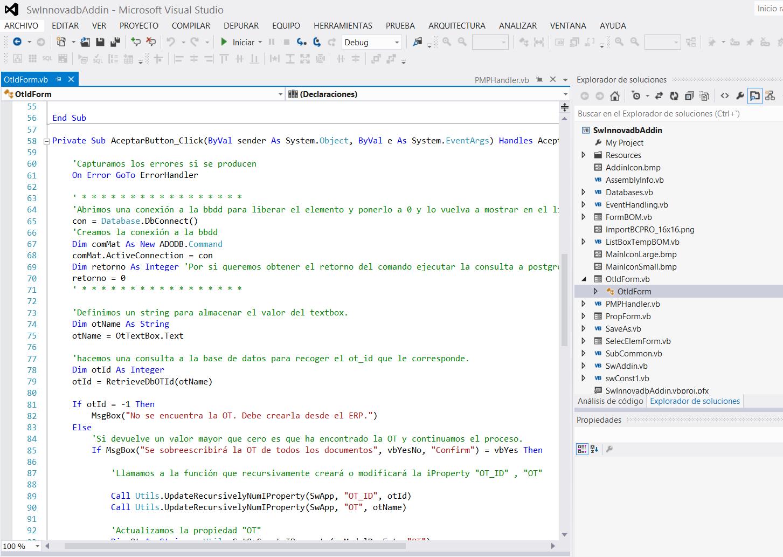 Programación en Velneo: integración de un ERP con CAD 4