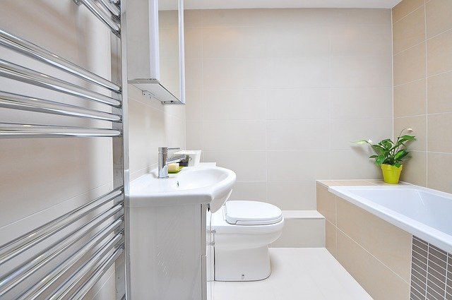 Your bathroom needs items from this list of things for your first apartment.