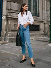 white shirt and jeans for ladies Shop Clothing & Shoes Online
