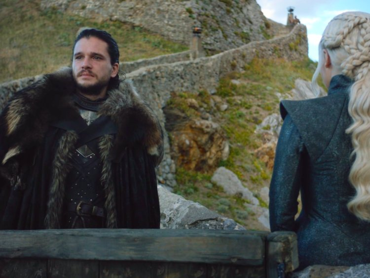 Also in that scene, Jon made an accidental connection between himself and Rhaegar.