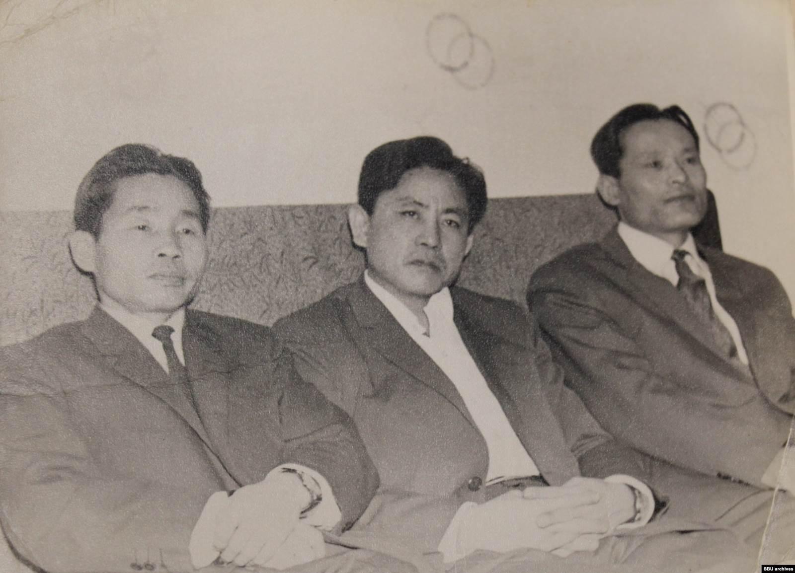 Слева направо: Ким, Цой, Дим. Фото из материалов уголовного дела