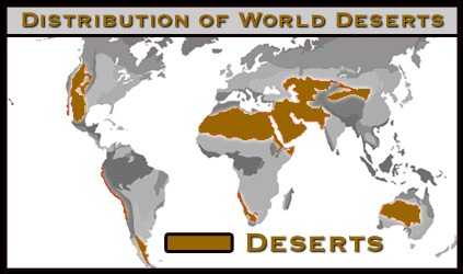 Desert biome map uptowncritters desert biomes world map image gallery hcpr updated gumiabroncs Choice Image