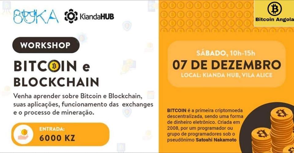 Evento de Bitcoin na Angola