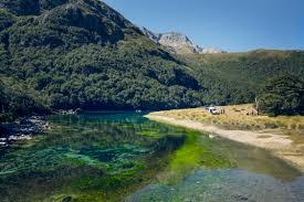 Blue Lake, Nelson - world's clearest lake - Tourism New Zealand Media