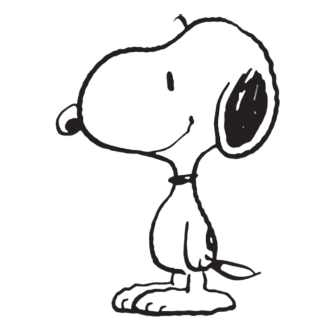 Drawing of Snoopy