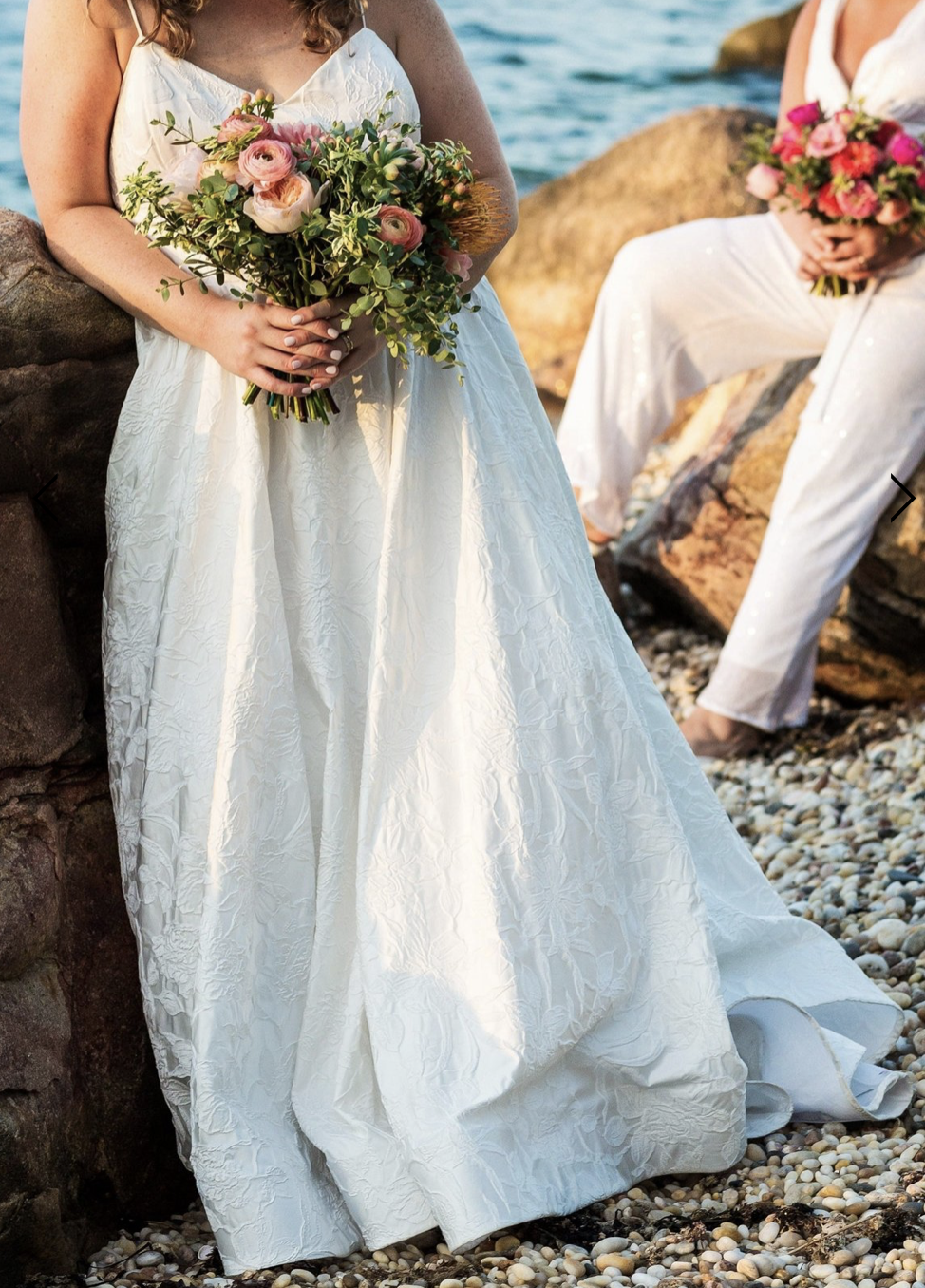 A-line dress from nearly newlywed