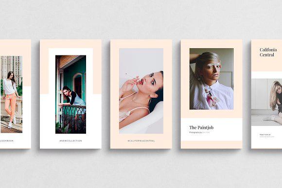 Ruben Stom California Instagram Stories Pack