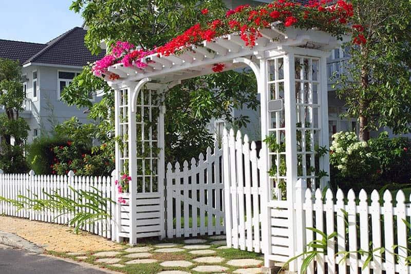 Archways Garden Fence