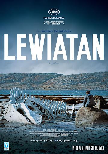 Polski plakat filmu 'Lewiatan'