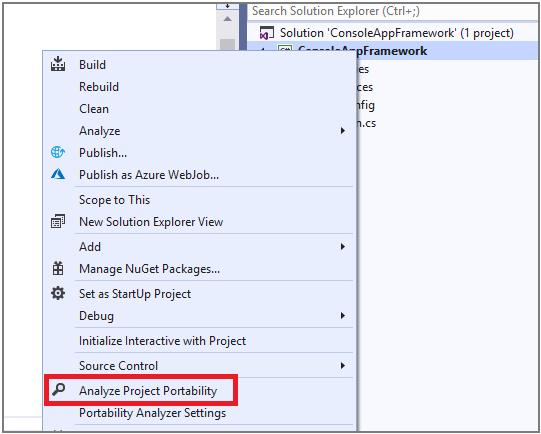 Net-Portability-Analyzer