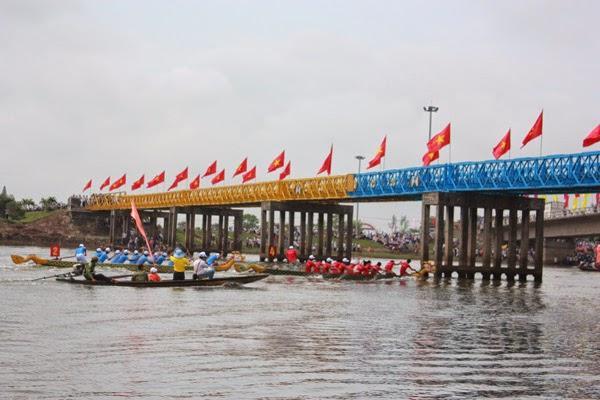 Cầu Hiền Lương, vĩ tuyến 17 chia cắt đôi bờ đất nước- dấu ấn lịch sử của chiến tranh.